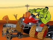 Hulk Riding