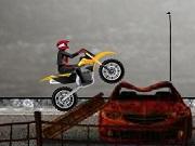 Junkyard Bike Stunts