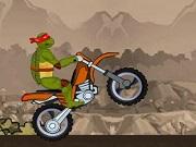 Ninja Turtle Bike Stunts