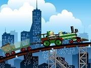 Railroad Train Rush
