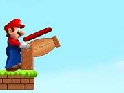 Shoot Mario Mushrooms