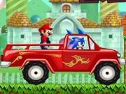 Sonic Helps Mario