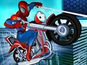 Spiderman Riding